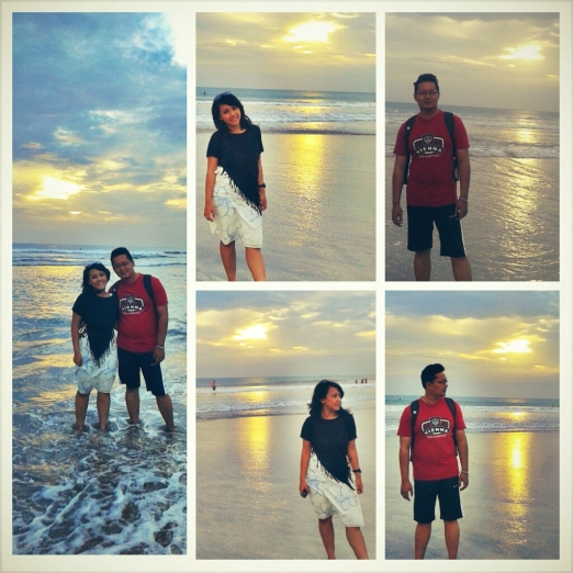 Kuta Beach - Honeymoon
